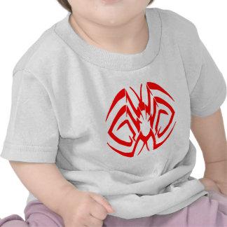 Tribal Spider Looking Tattoo T-shirts