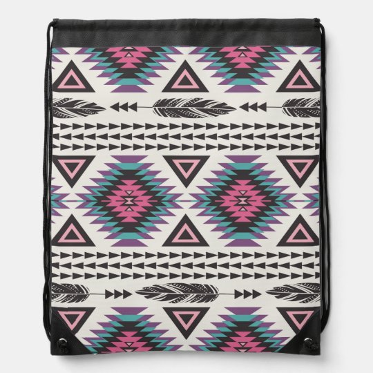 Tribal Spirit Drawstring Backpack