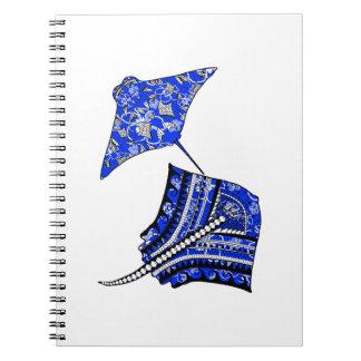 Tribal Stingrays Notebooks