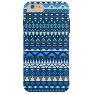 Tribal striped abstract pattern design tough iPhone 6 plus case