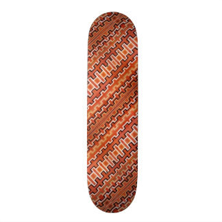 Tribal Stripes Skateboard Deck