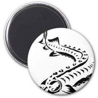 Tribal Sturgeon - Huso Beluga Magnet
