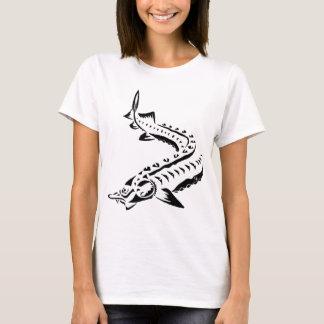 Tribal Sturgeon - Huso Beluga T-Shirt
