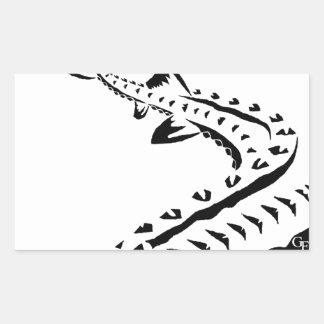 Tribal Sturgeon - Shovelnose Sticker