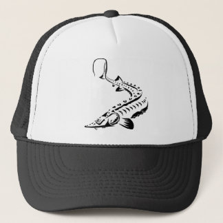 Tribal Sturgeon - Shovelnose Trucker Hat