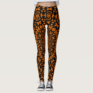 Tribal Sunset Leggings