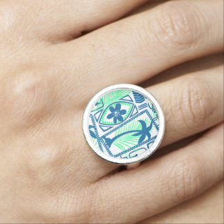 Tribal surfing ring