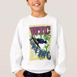 Tribal surfing sweatshirt