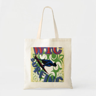 Tribal surfing tote bag