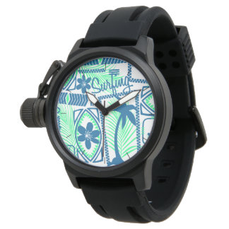 Tribal surfing watch