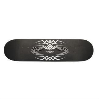Tribal T-Rex Skulls white Skate Boards