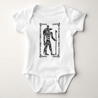 Tribal Tattoo Anubis Baby Bodysuit