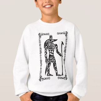 Tribal Tattoo Anubis Sweatshirt