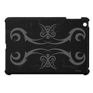 Tribal Tattoo Black and Gray iPad Mini Case Cover