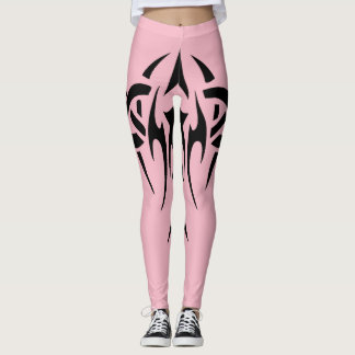 Tribal Tattoo Design Leggings