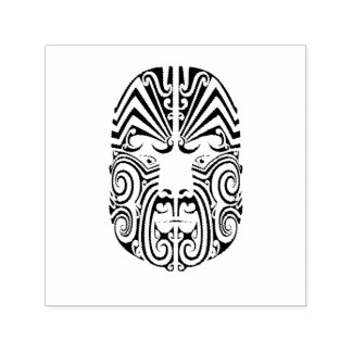 Tribal Tattoo Face Self-inking Stamp
