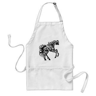 Tribal tattoo horse design standard apron