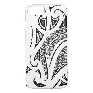 Tribal tattoo mauri moko design iPhone 7 case