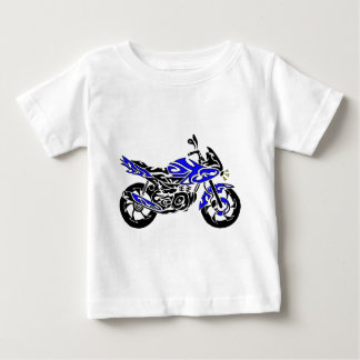 Tribal Tattoo Motorcycle Baby T-Shirt