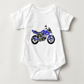 Tribal Tattoo Motorcycle T Shirt