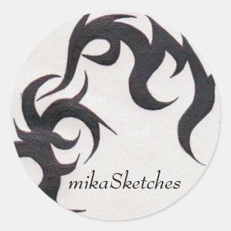 Tribal Tattoo Sticker