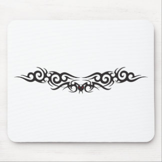 Tribal Tattoo Wing Mouse Pad