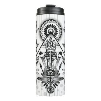 Tribal Thermal Tumbler