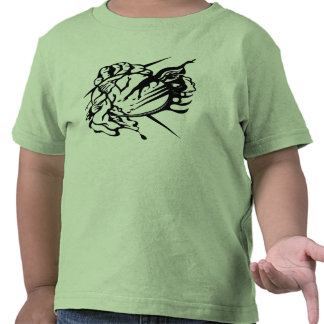 Tribal Thunder Cloud Tattoo Shirts