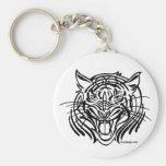 Tribal Tiger Key Chains
