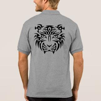 Tribal Tiger Polo Shirt
