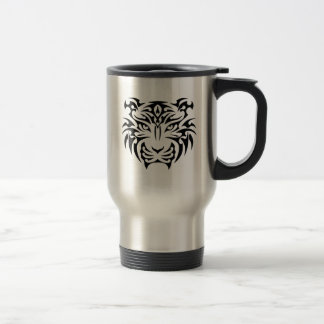 Tribal Tiger Travel Mug
