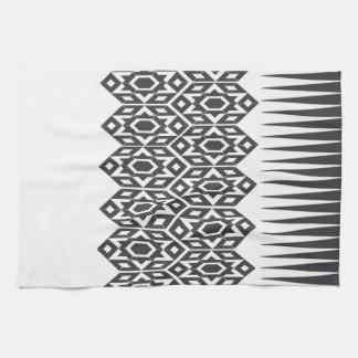 Tribal Tracks Kitchen Towel