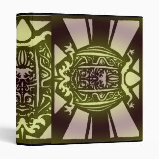 Tribal Turtle Binder