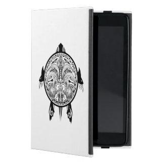 Tribal Turtle Shield Tattoo Case For iPad Mini