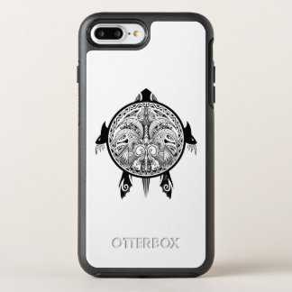Tribal Turtle Shield Tattoo OtterBox Symmetry iPhone 8 Plus/7 Plus Case