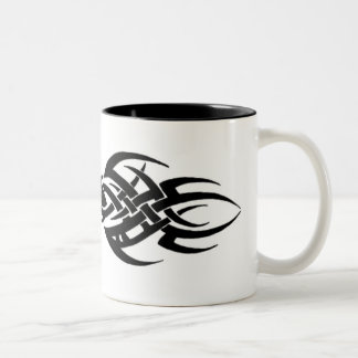Tribal Two-Tone Coffee Mug