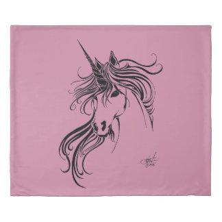 Tribal Unicorn Duvet Cover