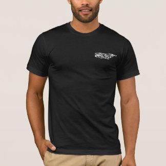 Tribal Whale Tattoo 3 T-Shirt