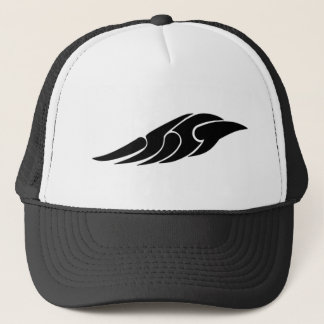 Tribal wing trucker hat