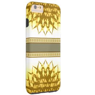 Tribal Yellow iPhone 6/6s Plus, Tough Phone Case