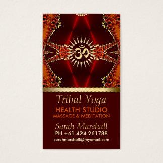 Tribal Yoga Eastern New Age Business Card