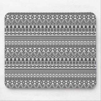 Tribalism Custom Tribal Geometric Pattern Mouse Pad