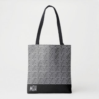 Tribangled Minor Monogram Tote Bag