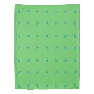 Tribe Ephraim Light Green Twin Size Duvet Cover