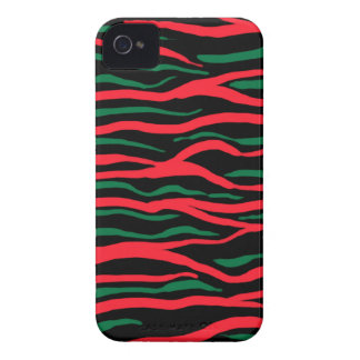 tribe green&red iPhone 4 Case-Mate cases