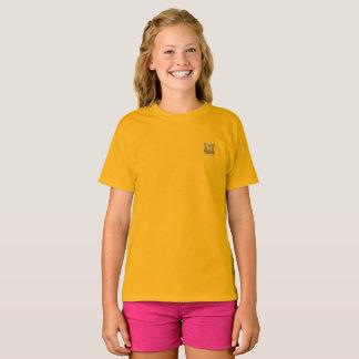Tribe Issachar Girls Yellow Hanes T-Shirt