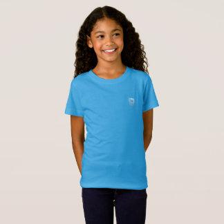 Tribe Naphtali Sky Blue Girls Fine Jersey T-Shirt
