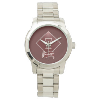 Tribe Of Asher Women's Silver Bracelet Watch