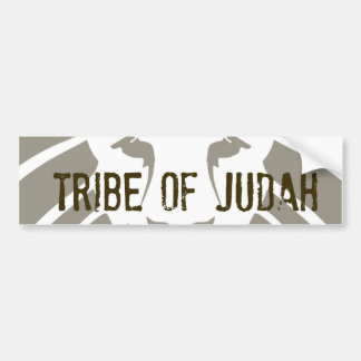 Tribe of Judah Bumper Sticker