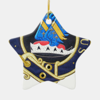 Tribe of Mar Crest Ceramic Ornament